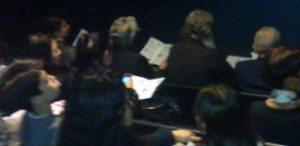 Wonderful audience at Australia Quartet @ UTS