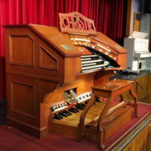 Christie Organ Kelvin Grove College